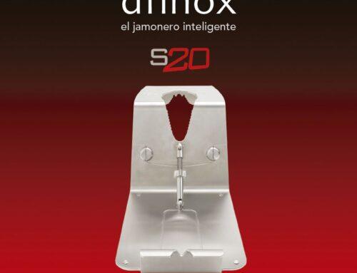 Jamonero S20 Afinox plegable de acero inoxidable