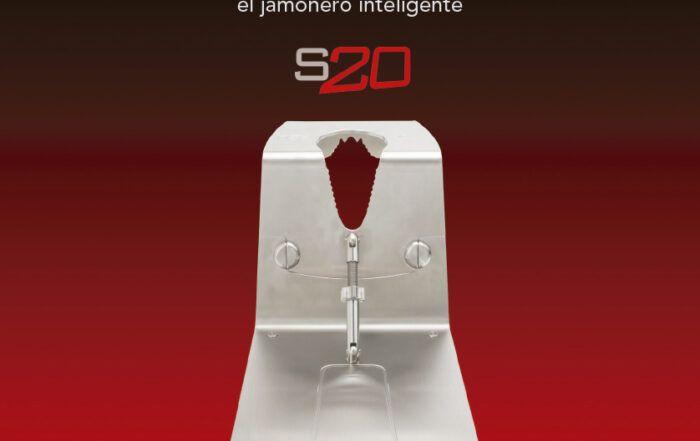 Jamonero Afinox S20 acero inoxidable y plegable