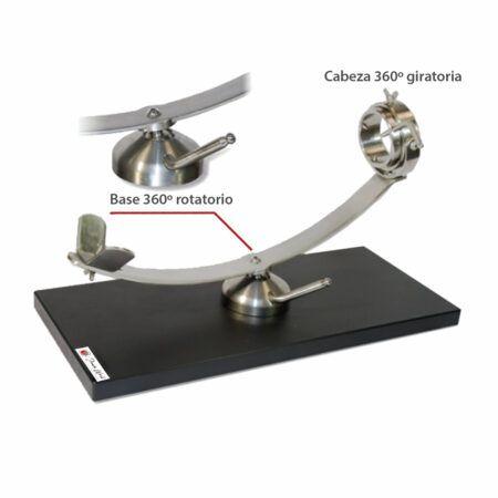 Jamonero fibra rotatorio 360 modelo don benito 17838