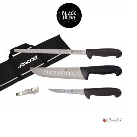 Juego cuchillos corte Jamón World 2 Black Friday 2020