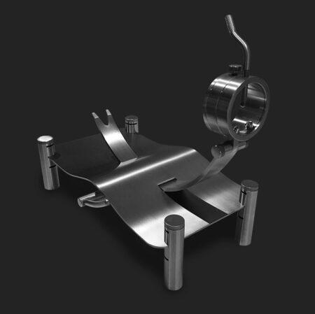 Jamonero alta gama MAVERICK con elevadores de Steel O