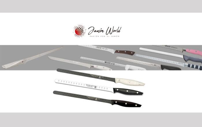 cuchillos jamoneros mantenimiento y cuidados